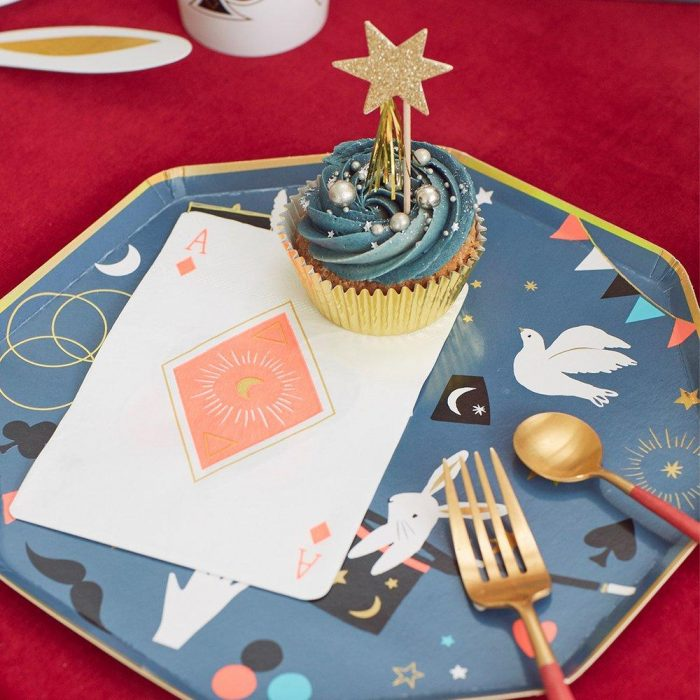 Magic Party Plate and Napkin