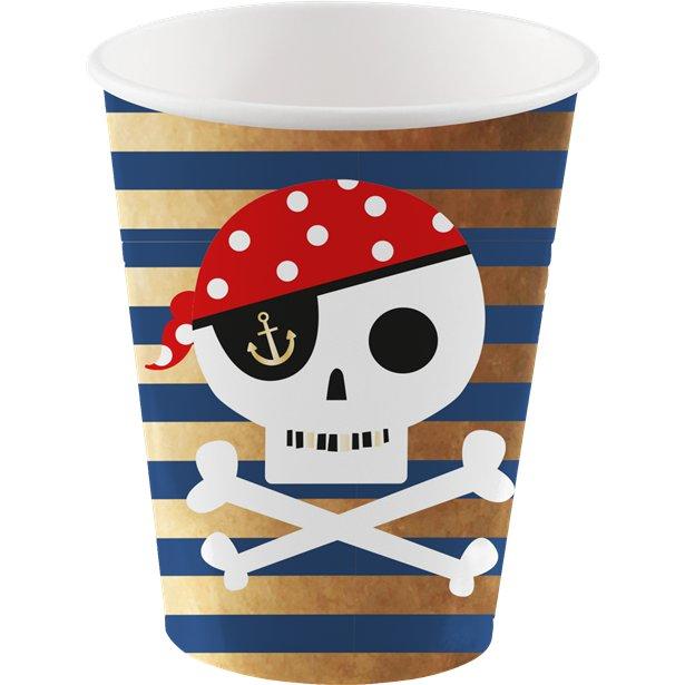 pirate paper cup
