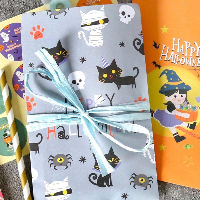 Halloween cat bags