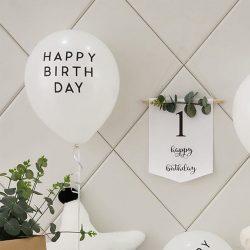 Plain Birthday Balloon