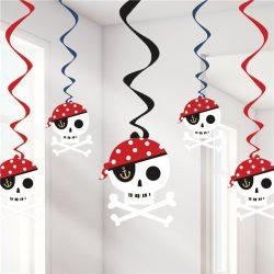 Pirate swirl decorations