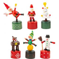 wooden christmas puppets