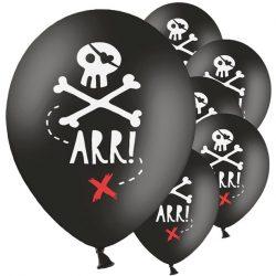 Pirate skull balloons