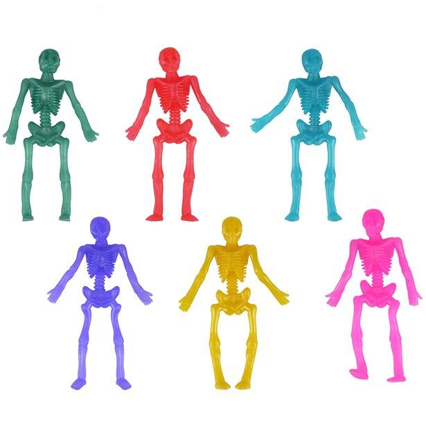 coloured skeleton