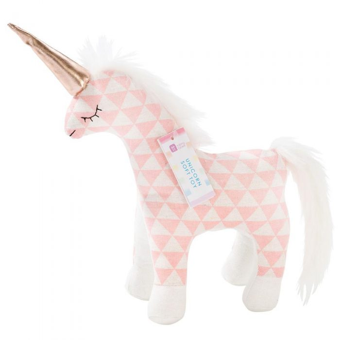 unicorn cuddly toy