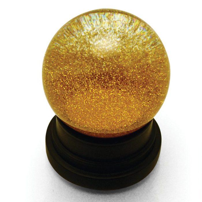 Gold Glitter Globe
