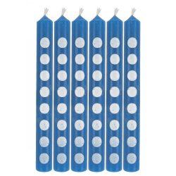 Blue Dot Candles