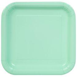mint square plates