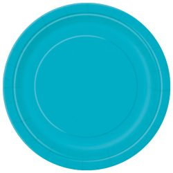 teal plate small