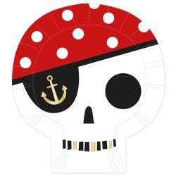 treasure island skull plates