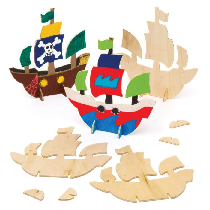 Wooden Pirate Ships